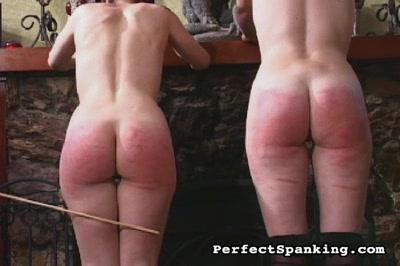 Sexy goths spanked