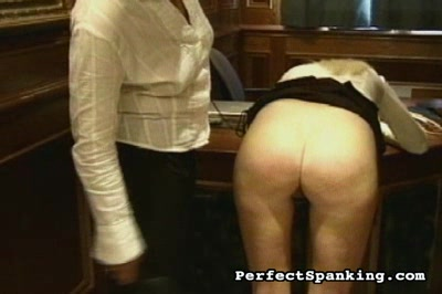 Plump assfucked Caning