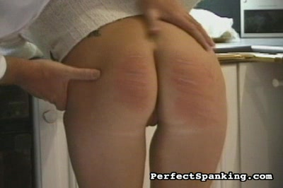 Ditzy Blonde Spanked