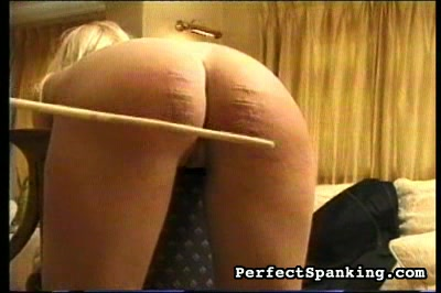 larger than red spankmaster brings welts to both these lovelies