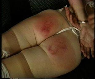 Granny gets spanked