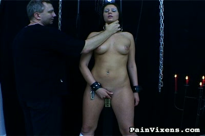 Caned and fucked