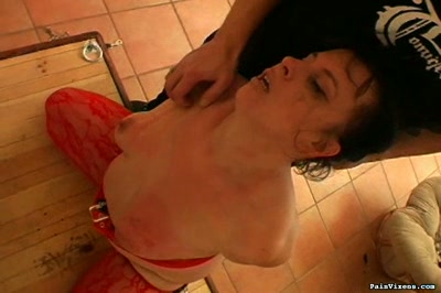 BBW groped and probed