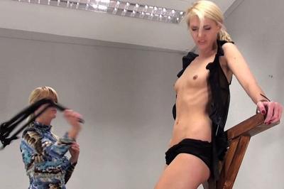 Debbie's Stomach Flogging