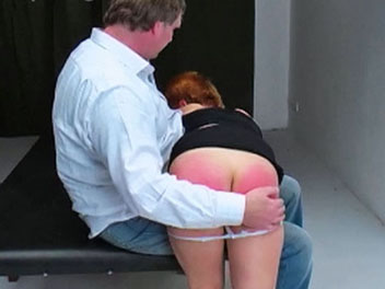 clothes Spanking
