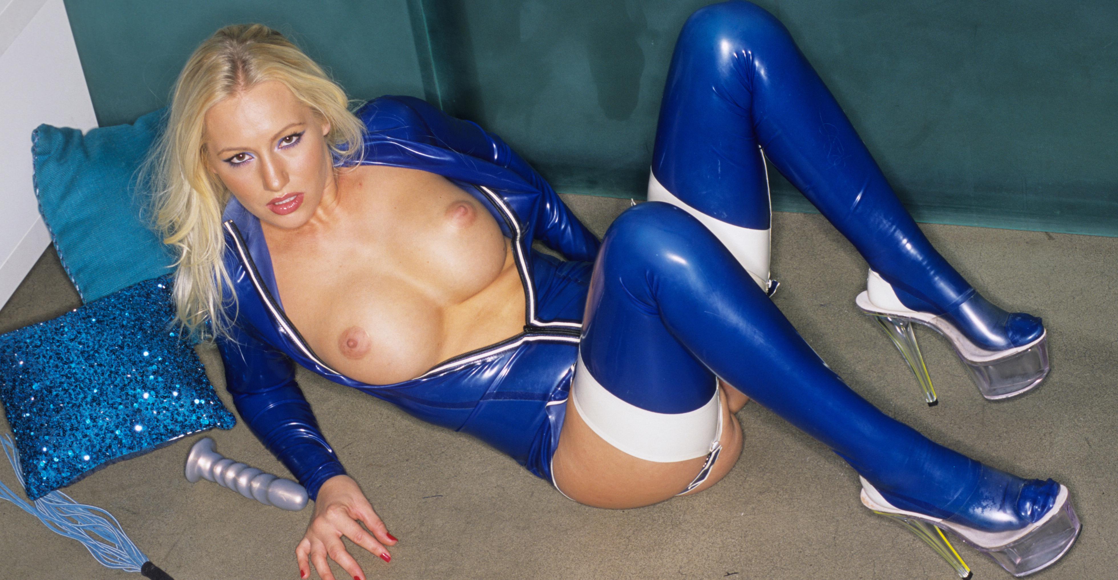 In Shimmering Blue