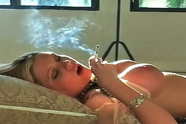 Teen Candy Smokes and Cums