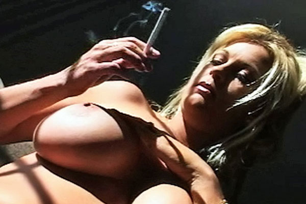 Slutty Slut Brooke Smokes With Her Other Lips