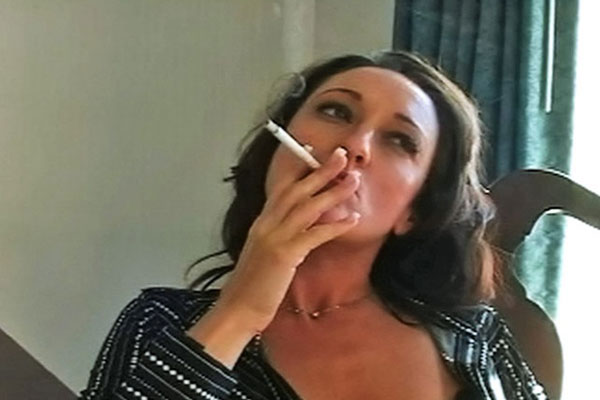 Michelle Cums Over With Cigarettes