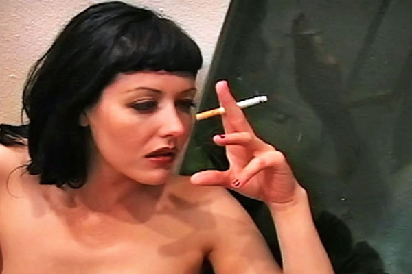 GirlOnGirl smoking