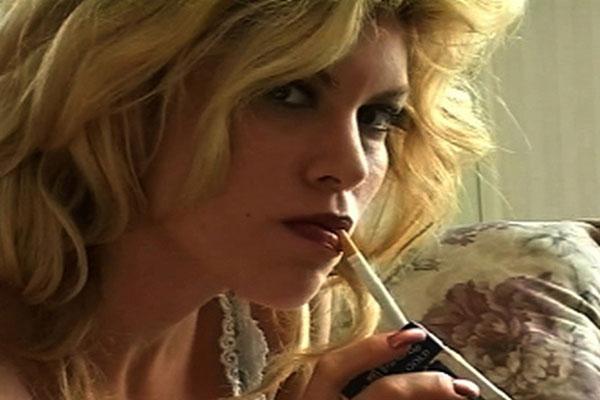 Sexy Smoker Strikes viagra Pose