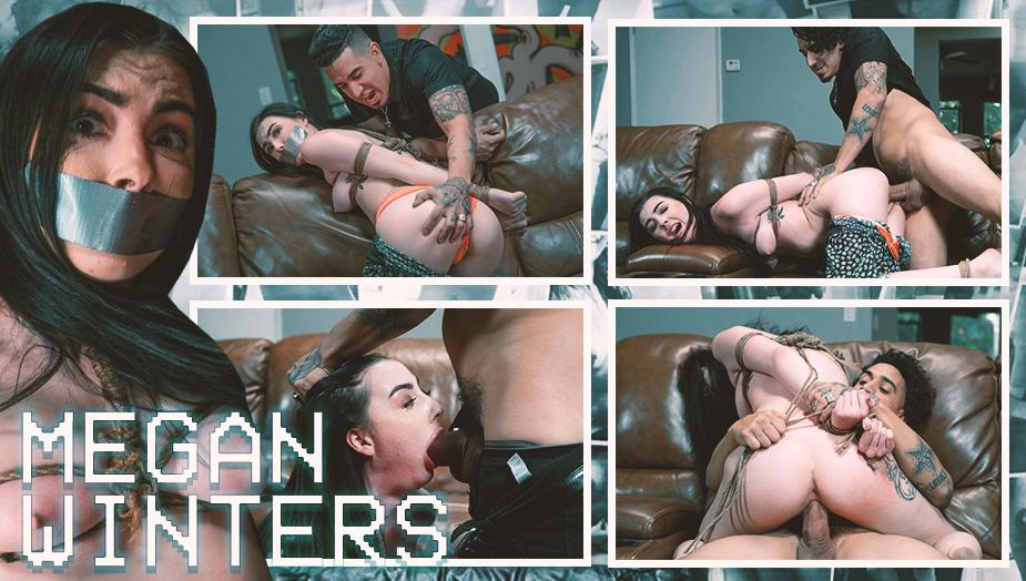 Internet Creeper - Megan Winters - Bound and Broken Babysitter