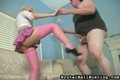 Blonde Ballbusting