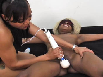 Ebony Bound and Tickled