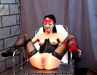 Bondage Porn : Pain Training!