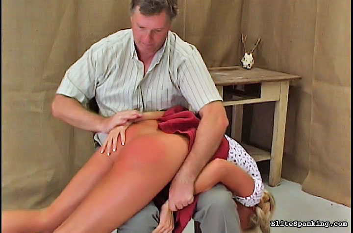 03 Spanked Ass Spread Asshole Humiliated   Bent Over And Spanked Real girls get severely punished and have their bottoms spanked