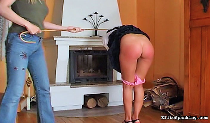 03 Spanked On His Fat Bottom In Front Of   Lies Told Sarah Gregory Spanking