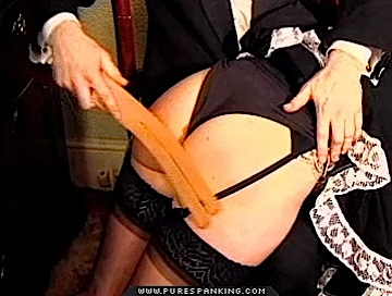 04 Spanking Over Slips   Best of British Spanking 2 Bruised and Abused Free gallery