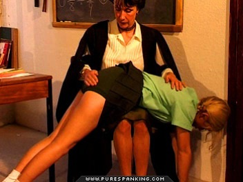 01 Dad Spanks Me High School   Caned In First Day