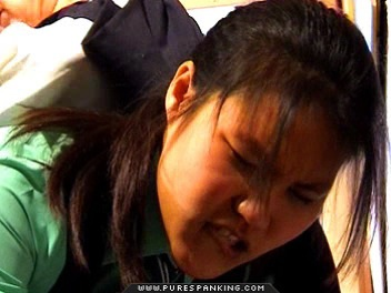 02 Dad Spanks Me High School   Caned In First Day