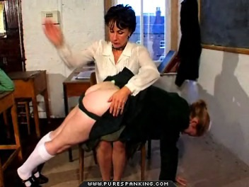 04 Dad Spanks Me High School   Caned In First Day